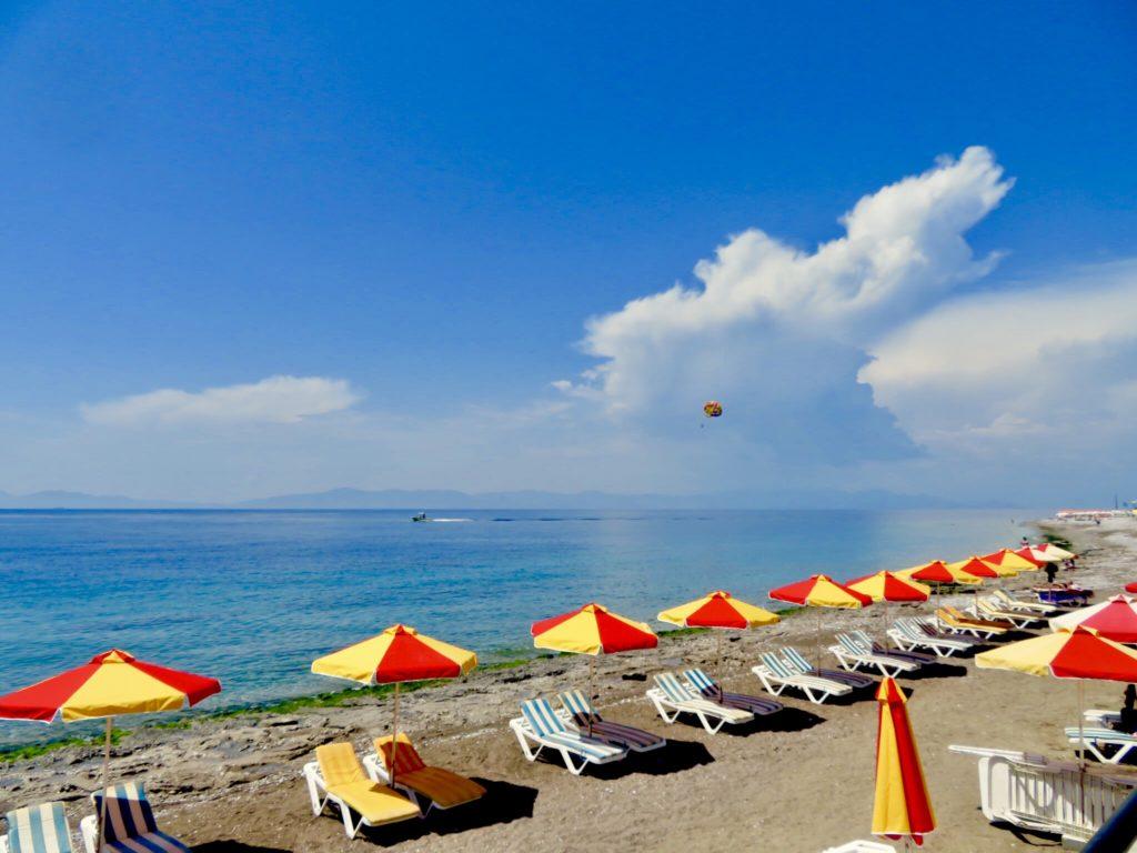 Strand Rhodos-stad