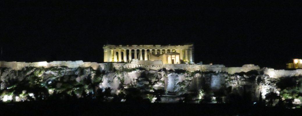 Athene Parthenon Akropolis